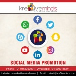 Social Media Promotion with Kre8iveminds