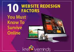 web redesign factors